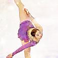 長洲未来 2014-15 SP 『パガニーニの主題による狂詩曲』 Mirai Nagasu 全米フィギュアスケート選手権2015